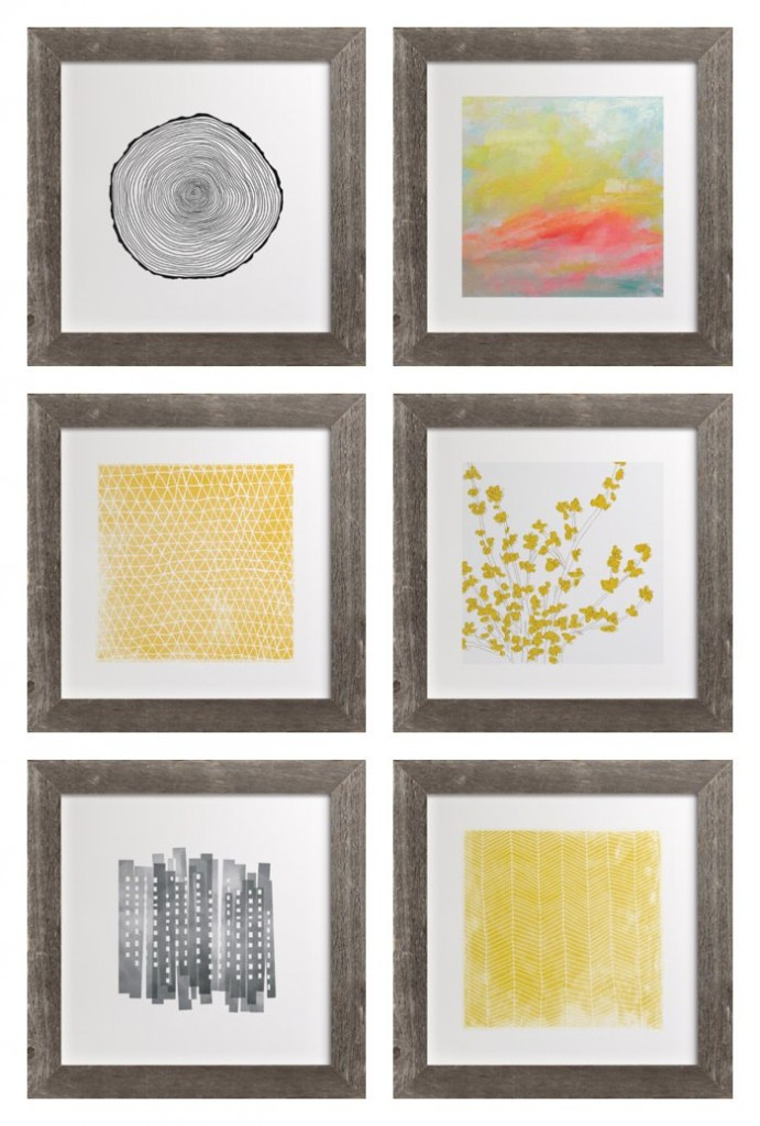 I am smitten with the limited supply of handcrafted rustic frames being offered at Minted.com *so cool