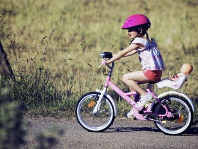 Doll Carrier for Bike *too cute