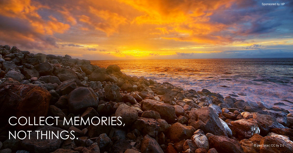 Collect memories, not things. #quote *great list of family travel tips