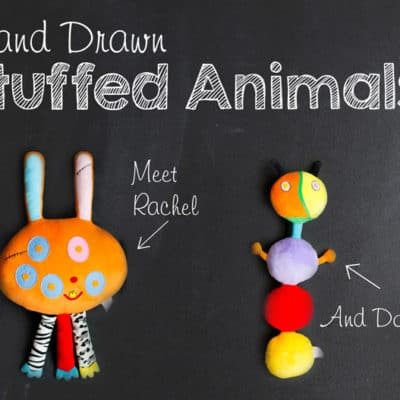 Handmade Custom Stuffed Animal: Bring Artwork to Life