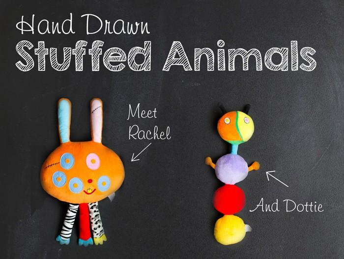 Handmade Custom Stuffed Animal: Bring Artwork to Life