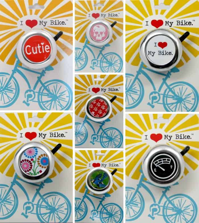 Adorable vintage style bike bells for kids + adults. *too cool