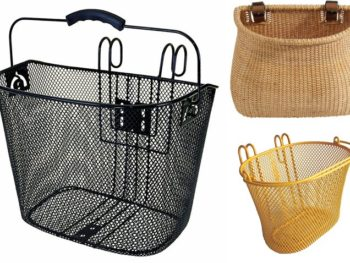 Stylish Bike Baskets *plus 5-tips for biking with kids