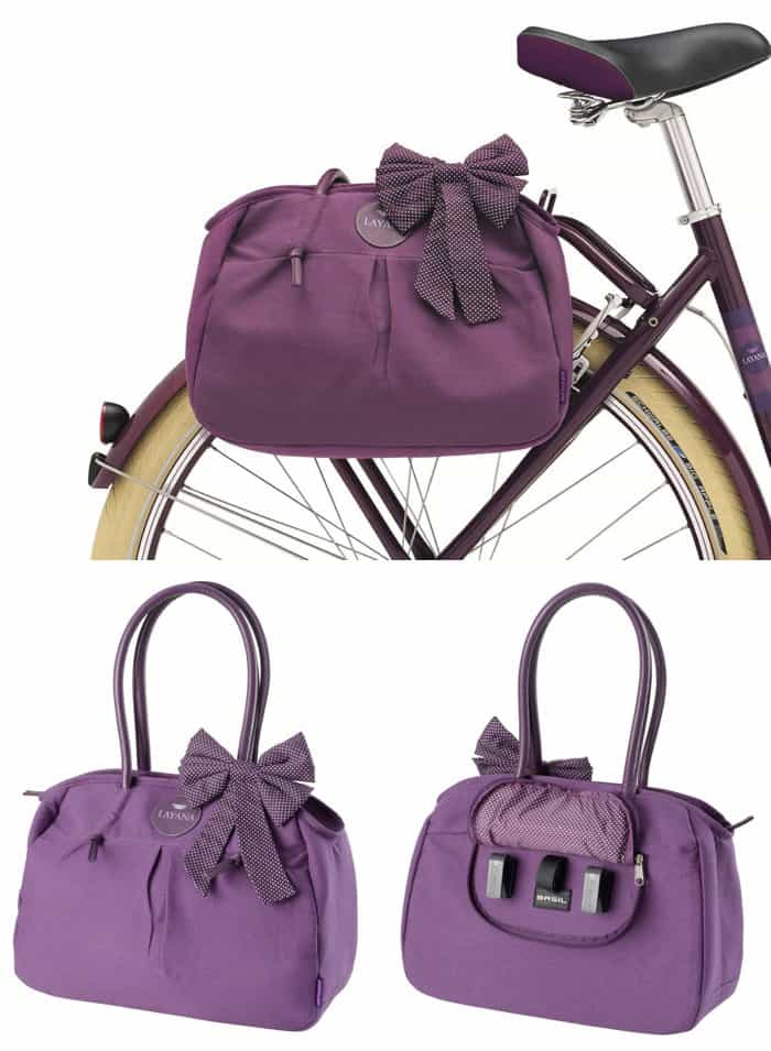 Stylish Bike Bag for Mom *plus 5-tips for biking with kids
