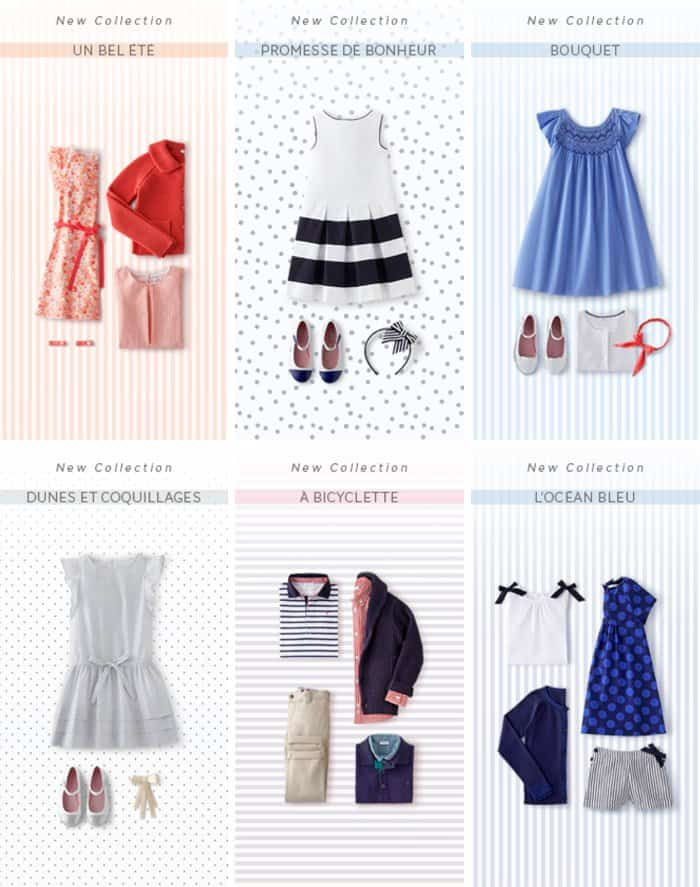 summer collection from jacadi *love these kids' styles