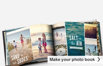 Create your own travel photo books.