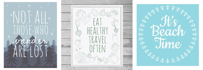 Travel Prints from Etsy Design Cloud