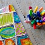 Colorful Zentangle Art: Easy Aluminum Foil Kids Project