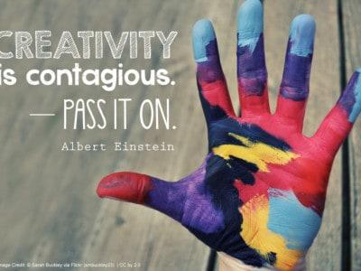 Creativity is contagious. Pass it on. - Albert Einstein #quote #art *love it