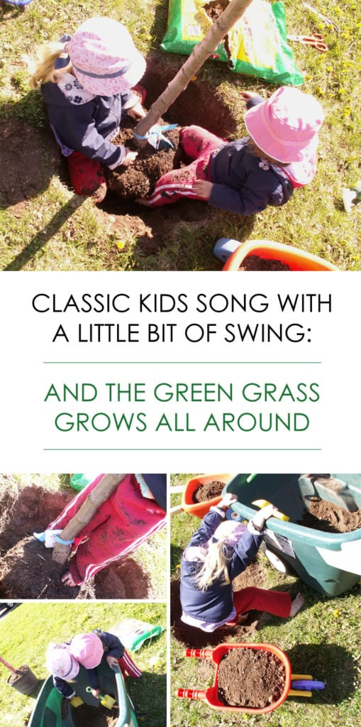 And the Green Grass Grows All Around & Around *love this version of the song by The Mighty Blue Kings