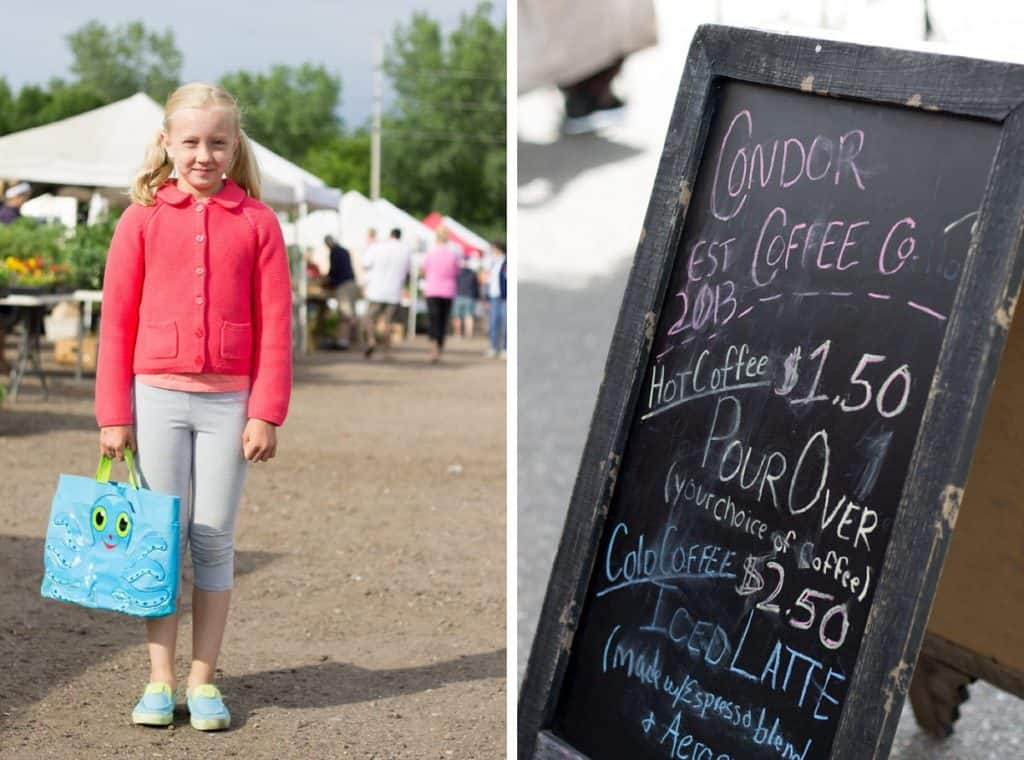 5 Tips for Fostering Independence at the Farmer's Market with Kids