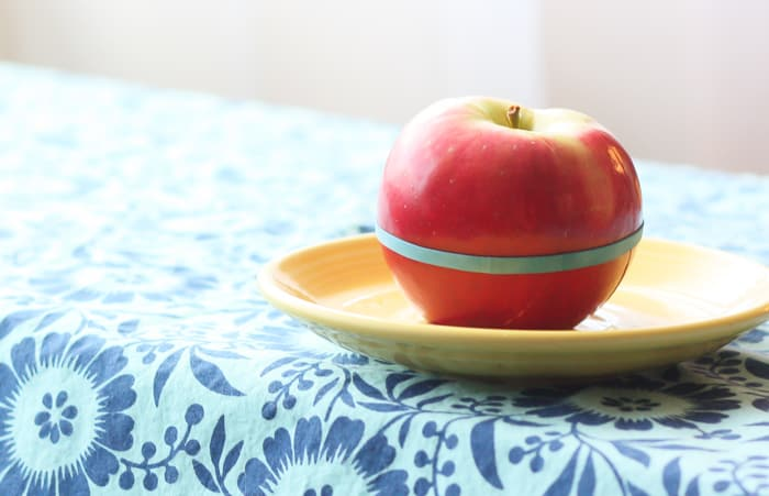 how to keep apples from browning in lunch