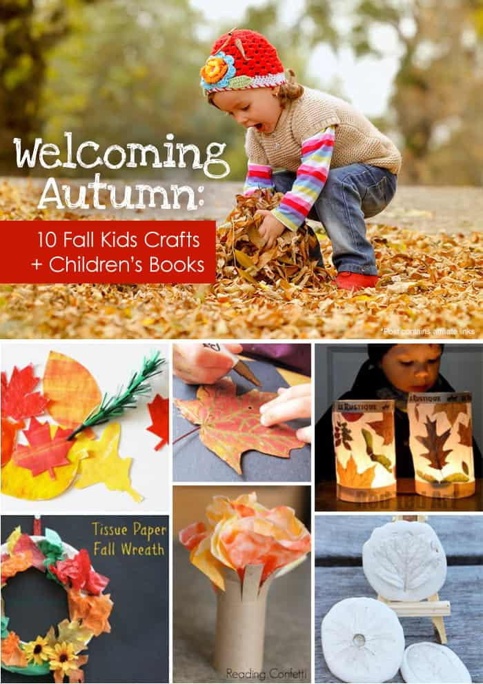 autumn crafts toddlers welcoming autumn 10 fall crafts children s books 10066