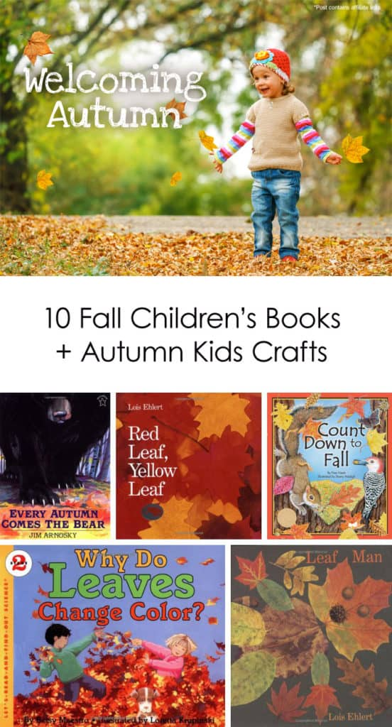 Welcoming Autumn: 10 Fall Kids Crafts + Children\'s Books - Lasso the ...