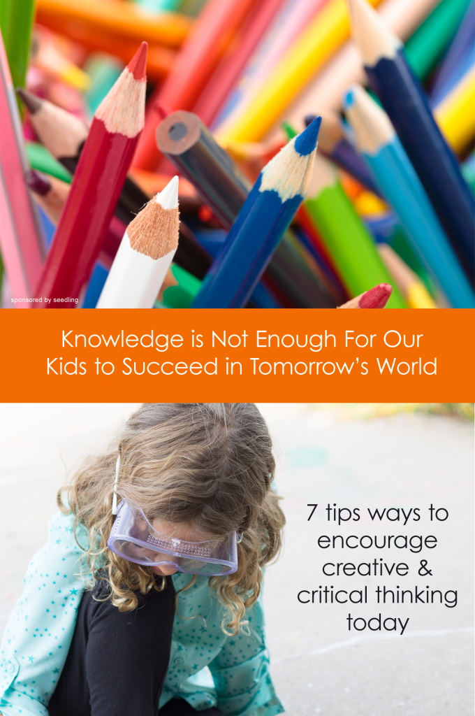 7 tips ways to encourage creative & critical thinking today #parenting *great list of ideas