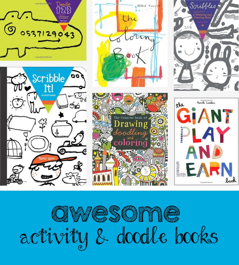 Awesome activity + doodle book recommendations
