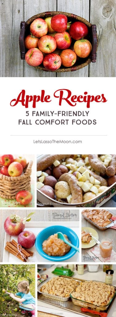 5 Family-Friendly Autumn Apple Recipes *Mmmm. Comfort food. Great list of children's activities and fall books for kids, too!
