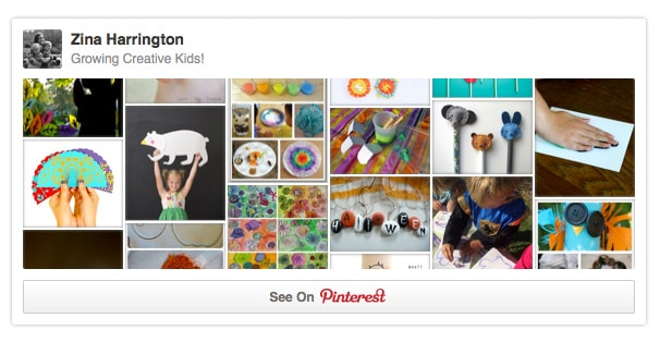 Growing Creative Kids *Awesome Pinterest board