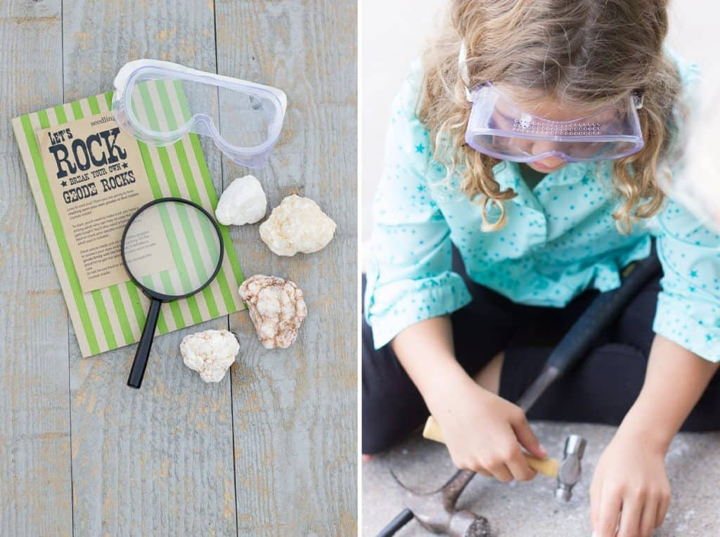 Raising Creative Thinkers *Playing with Geodes