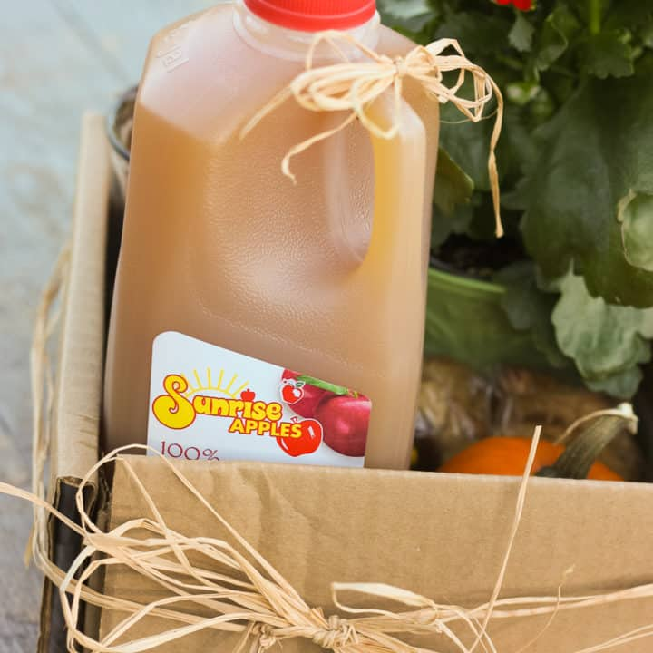 Apple Cider Picnic *cute idea