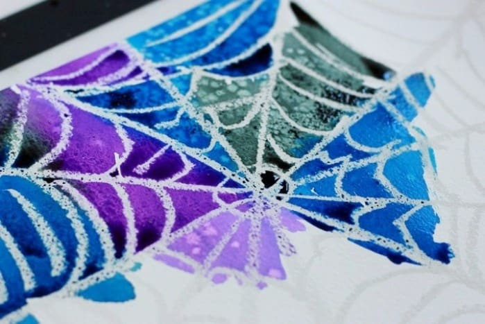 Spider web art project a simple and beautiful for Arts and craft websites