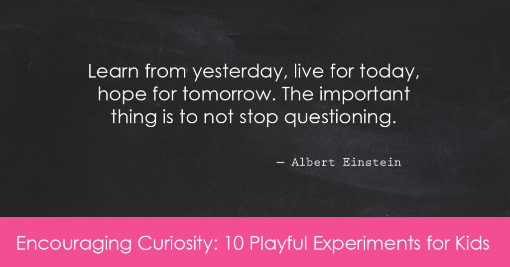 Learn from yesterday, live for today, hope for tomorrow. The important thing is to not stop questioning. ― Albert Einstein
