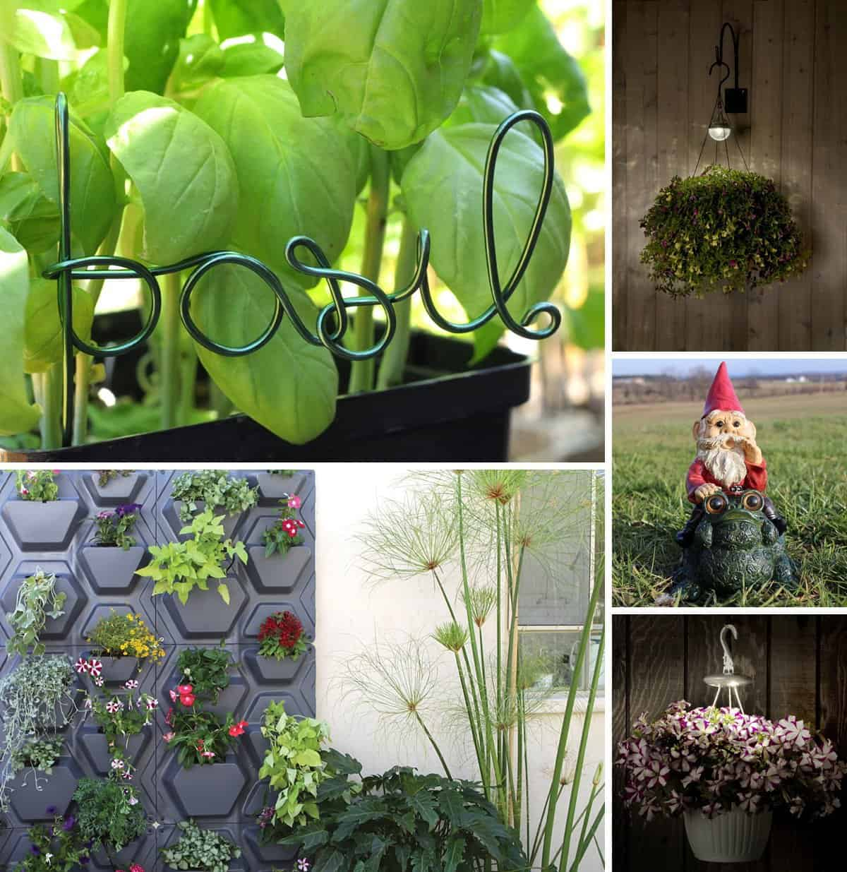 Awesome collection of gift ideas for the gardener in your life *Love the vertical garden, too cool