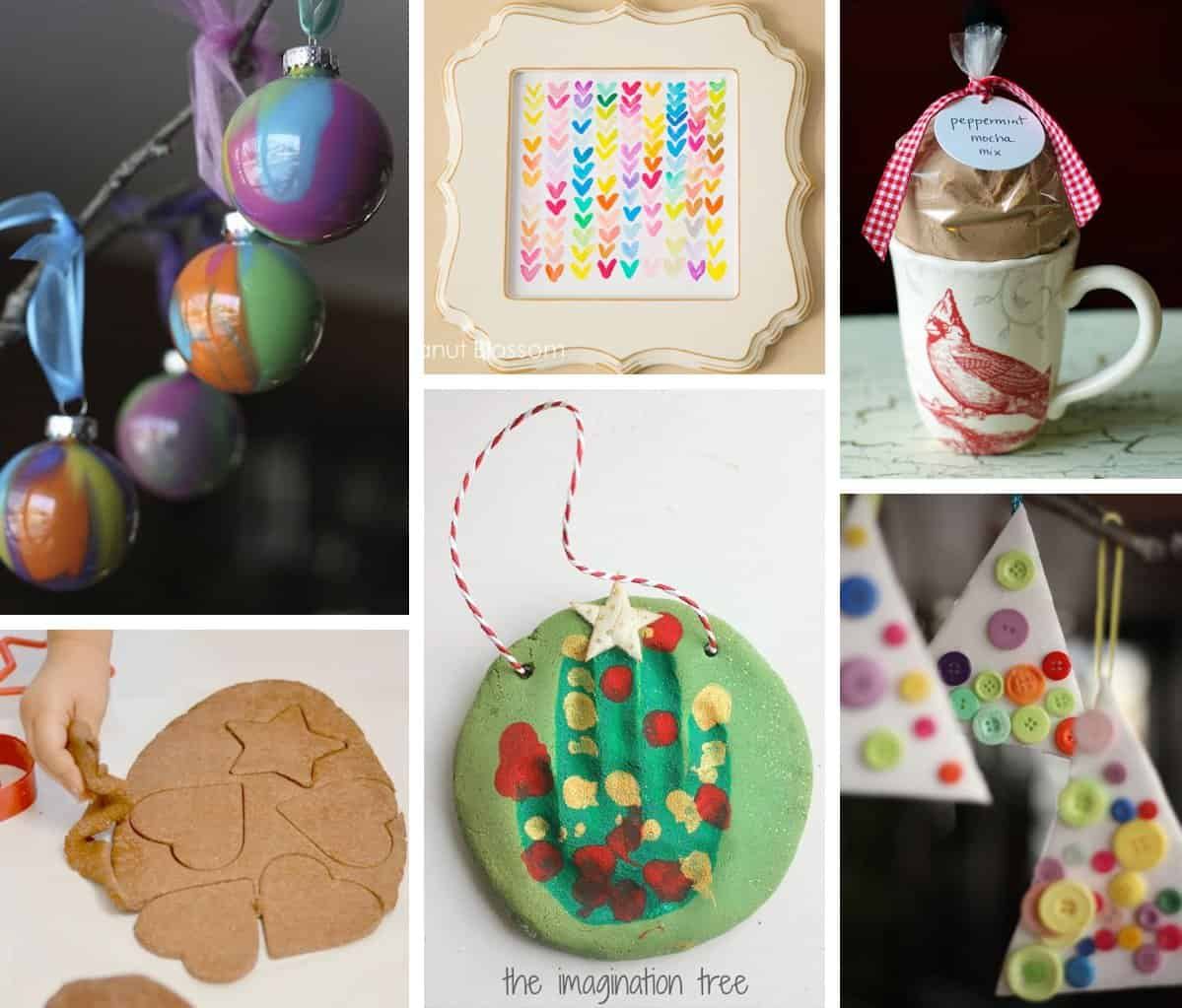 Homemade christmas gifts ideas for kids - Awesome Handmade Presents 10 Diy Holiday Gifts Kids Can Help Make