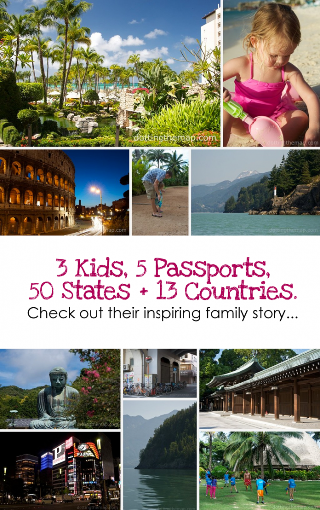 3 Kids, 5 Passports, 50 States + 13 Countries. #travel *How To Travel Often Regardless of Your Financial Status