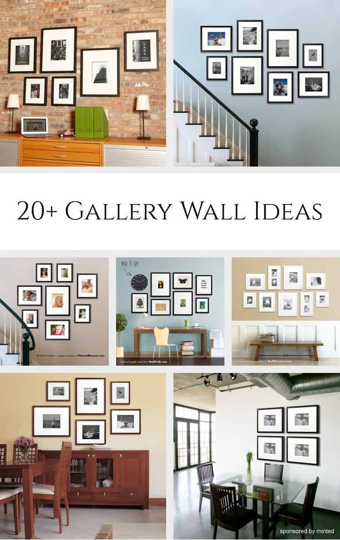 where to hang pictures in living room 20 gallery wall ideas 27823