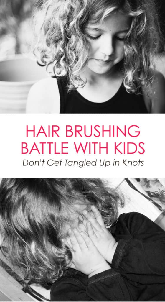 Hair Brushing Battle With Kids: Simply Solution to Stop this Daily Argument #parenting
