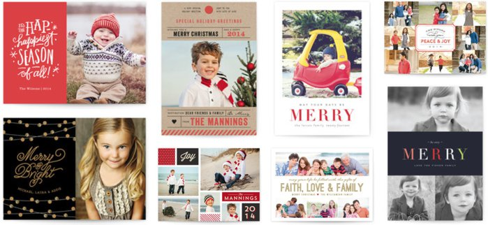 Holiday Card Designs from minted