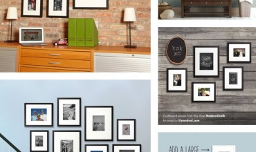 20+ Gallery Wall Ideas: Bringing together photography, family, and art