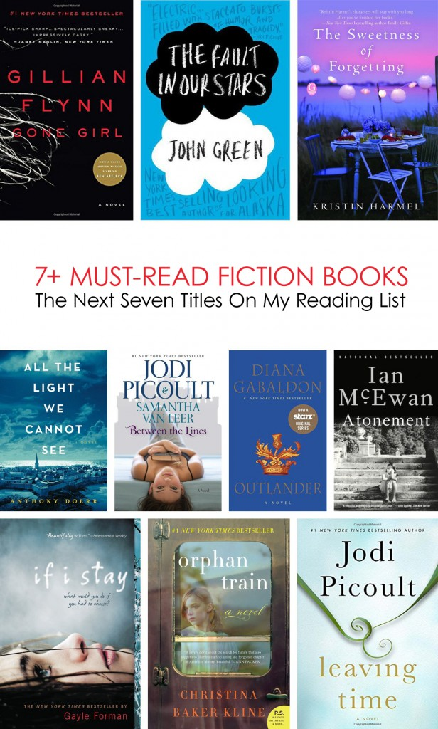 The Next 7 Books On My Must-Read List #booklist #fiction