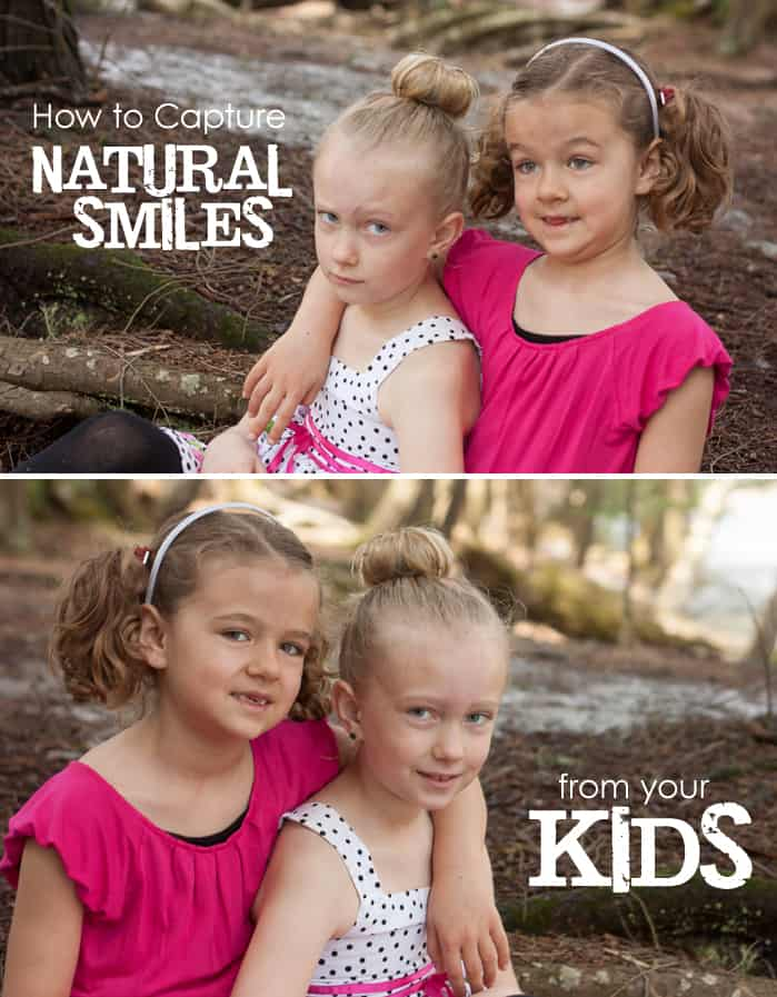 How to Capture Natural Smiles from YOUR Kids: 3 Simple Steps for Moms Behind the Camera #photography