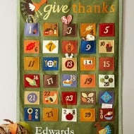 Give Thanks Countdown Calendar