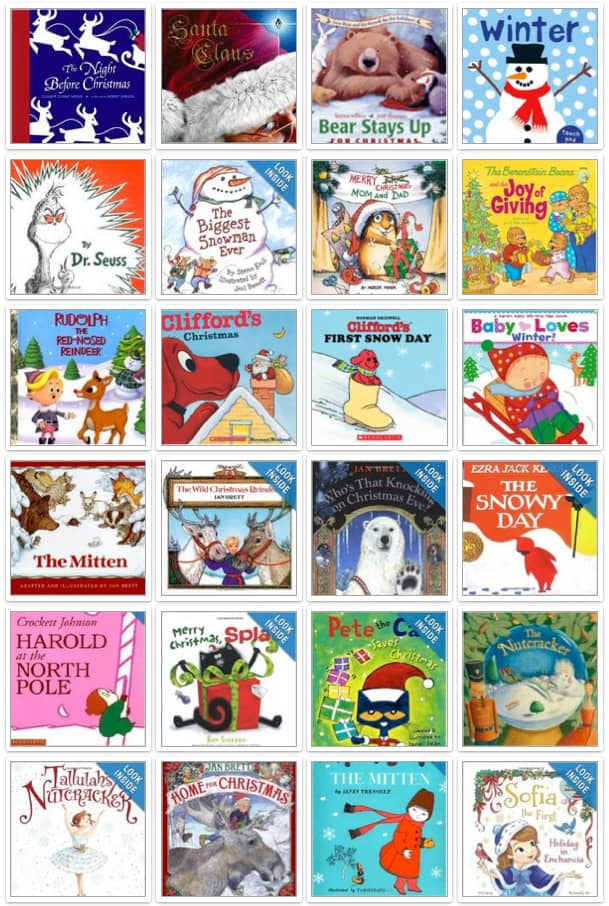 100+ Winter & Holiday Books Recommended by Moms
