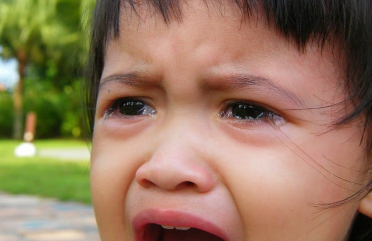 How to Calm Hysterical Crying