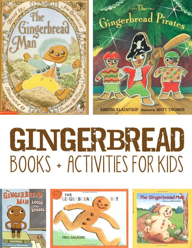 25 Gingerbread Activities for Kids: Sweet + Playful Ideas for Children *love this list of projects and books
