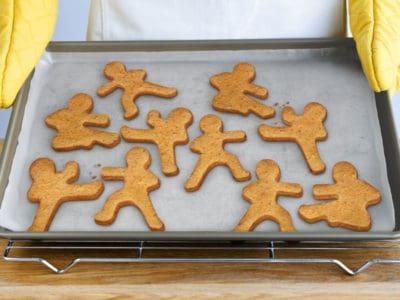 Ninja Gingerbread Cookie Cutters *Too cool