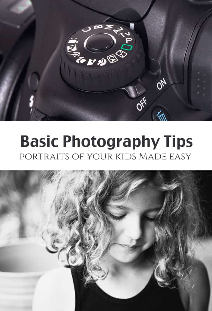Portraits of Kids: Beginner DSLR Photography *These photo tips are so simple. Love. WOW, the power of black & white