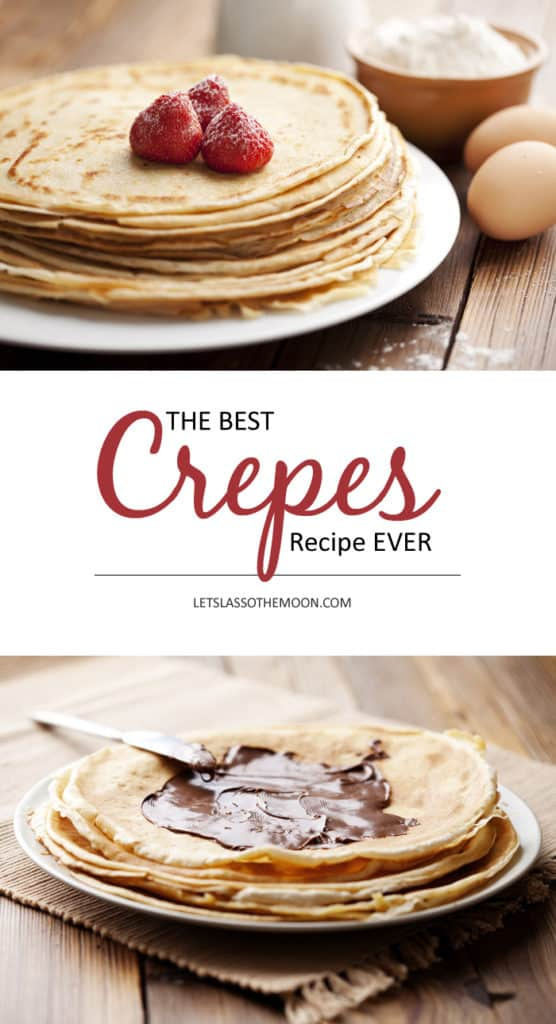 Deutsche Pfannkuchen: Best Crepes Recipe EVER *Saving this breakfast recipe for later!