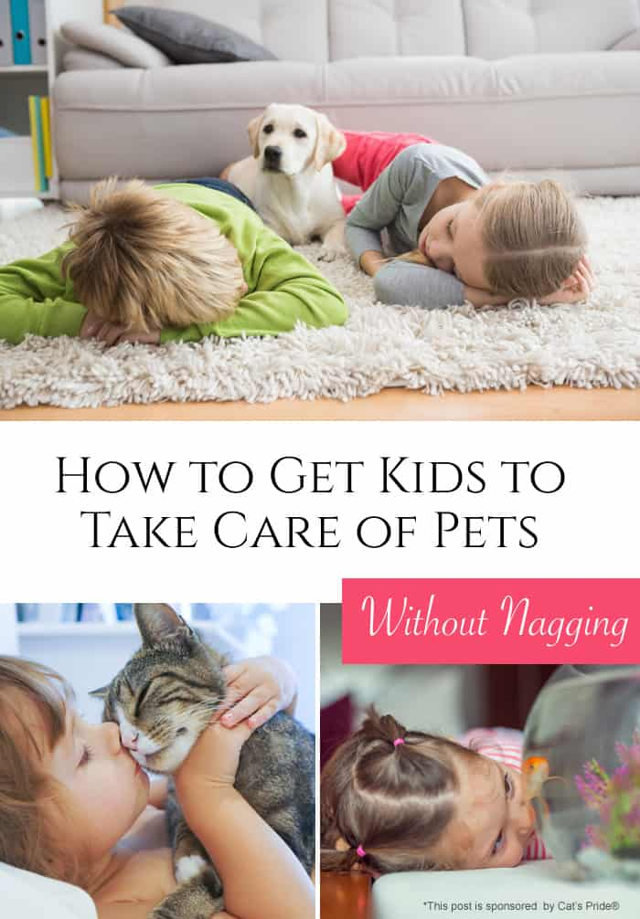 How to Get Kids to Take Care of Pets Without Nagging *Saving this parenting post for later
