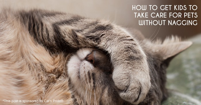 How to Get Kids to Take Care for Pets Without Nagging #parenting *Great suggestions