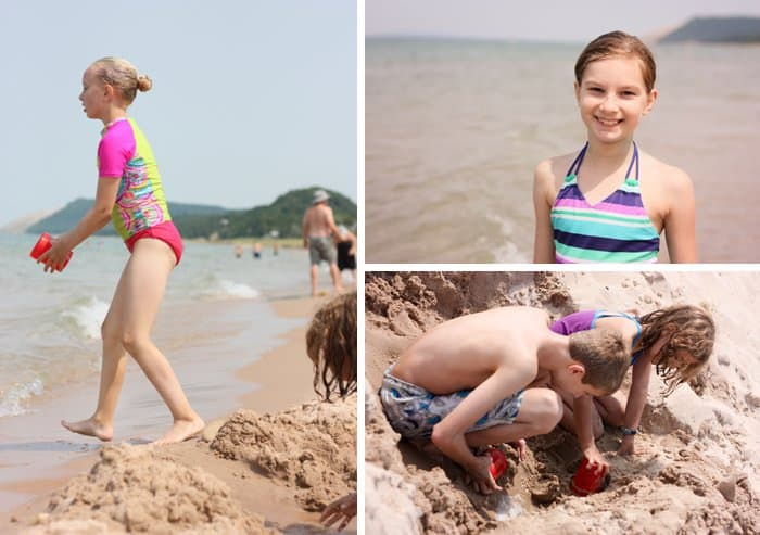 10 Things to Do With Kids in Traverse City Michigan: Empire Beach