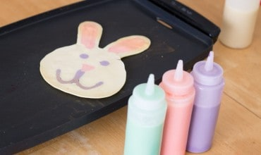 Spring Family Traditions: Easter Pancake Art