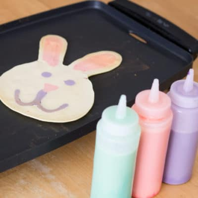 """How to Make EASY Easter Bunny Pancakes — Earn """"Best Parent Ever"""" Status With These 3 Simple Tips!"""