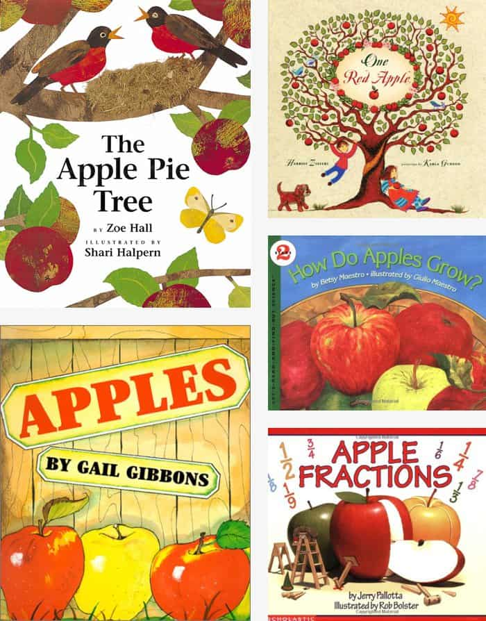 Awesome Apple Books for Kids *This recipe sounds awesome too
