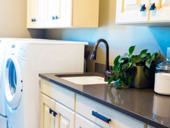 You won't believe what this mother of six did to totally rock her laundry space. *Loving this organizational hacks for creating an efficient laundry room