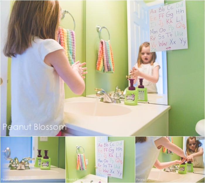 Healthy Bathroom Habits *Great post on How to Prevent Germs from Spreading to Siblings